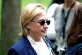 Nothing 'unusual' with Clinton at 9/11 event