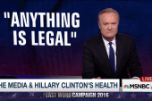 Political media loses its mind over Clinton