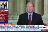 Senator 'confident' about Clinton's stamina