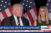 Trump & daughter Ivanka unveil childcare plan