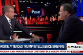 Christie discusses Trump intelligence...