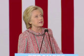 Clinton: 'It's great to be back'