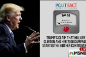 Fact checking 2016 campaign claims