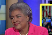 Donna Brazile on mixed support for Clinton