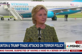 Trump & Clinton trade shots on terror policy