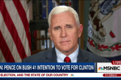 Mike Pence reacts to Tulsa police shooting