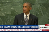 Pres. Obama gives final U.N. Assembly speech