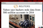 500M Yahoo accounts stolen in 2014