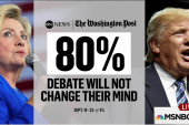 Will the debate change voters' perceptions?
