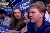 Hofstra student: Trump an 'honest' candidate