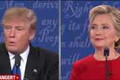 Trump, Clinton face-off in fiery first debate