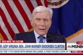 Fmr. GOP VA senator endorses Clinton