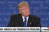 Trump campaigns on 'American is bad' message