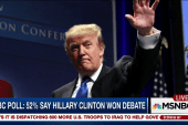 Trump denies campaign strife after debate