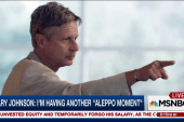 Gary Johnson can't name world leader he likes