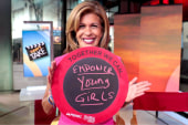 Hoda Wants to Empower Young Girls