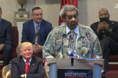 King lets n-word slip while introducing Trump