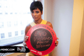 Tamron Hall Helps Domestic Violence Survivors
