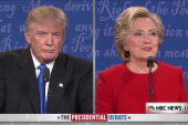 Clinton Criticizes Trump's Comments About...