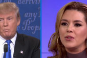 Trump unfavorable to women post-debate
