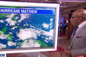 Hurricane Matthew roars through the Caribbean