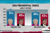 New polls favor Clinton as gap widens again