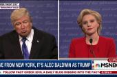 Alec Baldwin debuts his Trump on SNL