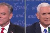 Pence, Kaine clash in fiery VP debate