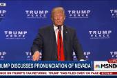 Trump on the pronunciation of Nevada
