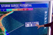 Matthew at Cat 3, storm surge still a threat