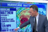 Florida braces for storm surges from Matthew