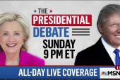 Plan ahead! Second presidential debate Sunday