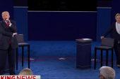 Second presidential debate turns nasty