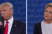 Trump effective, Clinton defensive at debate