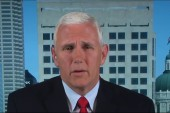 Pence reacts to debate, Trump tape scandal
