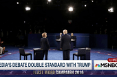 Trump's debate double standard