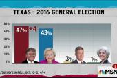 Texas Republican red seen fading