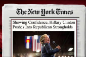 Clinton campaign expanding into red states