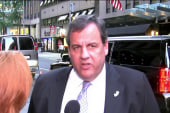 Christie proud of what he's said, stands...