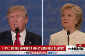 Trump composure degrades over debate's course