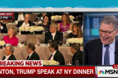 Awkwardness challenges humor at Smith dinner