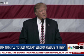Trump: I'll accept election result 'if I win'