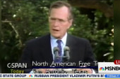 George H.W. Bush negotiated NAFTA