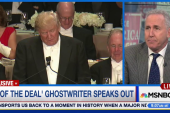 Donald Trump's ghostwriter speaks out