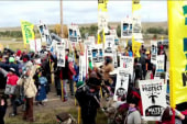 More than 80 arrested in ND pipeline protests