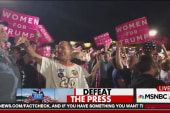 The terror of a Trump rally for the press