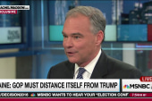 Kaine: GOP needs to show it is not Trump