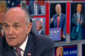 Giuliani defends Trump's hotel opening
