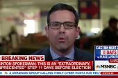 Clinton camp. spokesperson reacts to new...