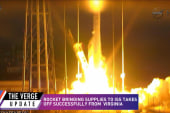 Rocket bound for ISS takes off from VA...